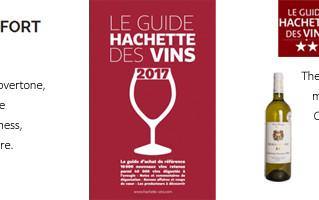 Guide Hachette 2017 : 2 stars
