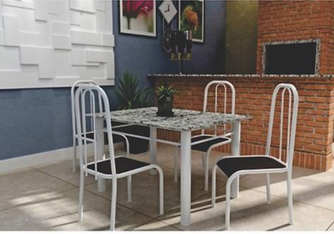 Mesa LC 4 Cadeiras