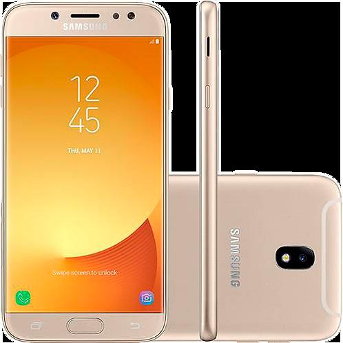 "Smartphone Samsung Galaxy J7 Pro Android 7.0 Tela 5.5"" Octa-Core 64GB 4G Wi-Fi C"