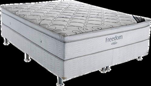 Cama Box King com Colchão Molas Ensacadas Freedom