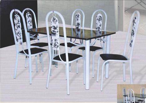 Mesa LC 6 Cadeiras