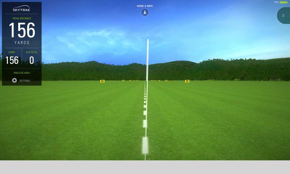 Real ball flights & data