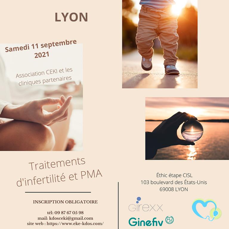 La PMA don d'ovocytes , don de sperme , accueil d'embryons à LYON
