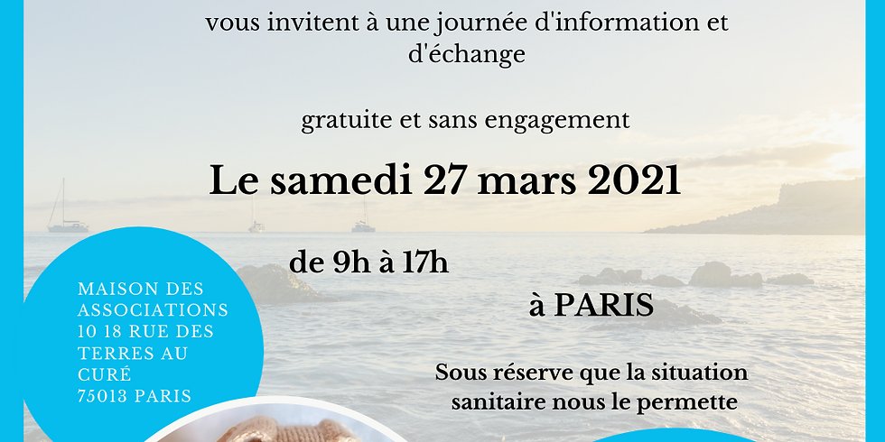Journée d'information et d'échange à Paris le Samedi 27 mars 2021