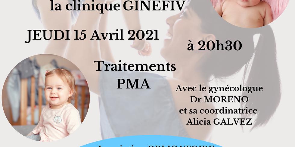 WEBFIV avec la clinique GINEFIV