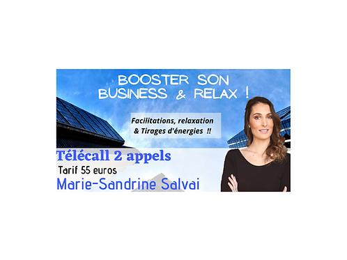 """Série de 2 Appels """"Booster son Business & Relax!"""""""