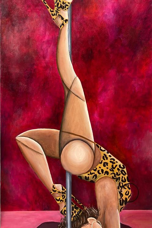 "Lunetta Violetta - 8"" x 16"" Print"