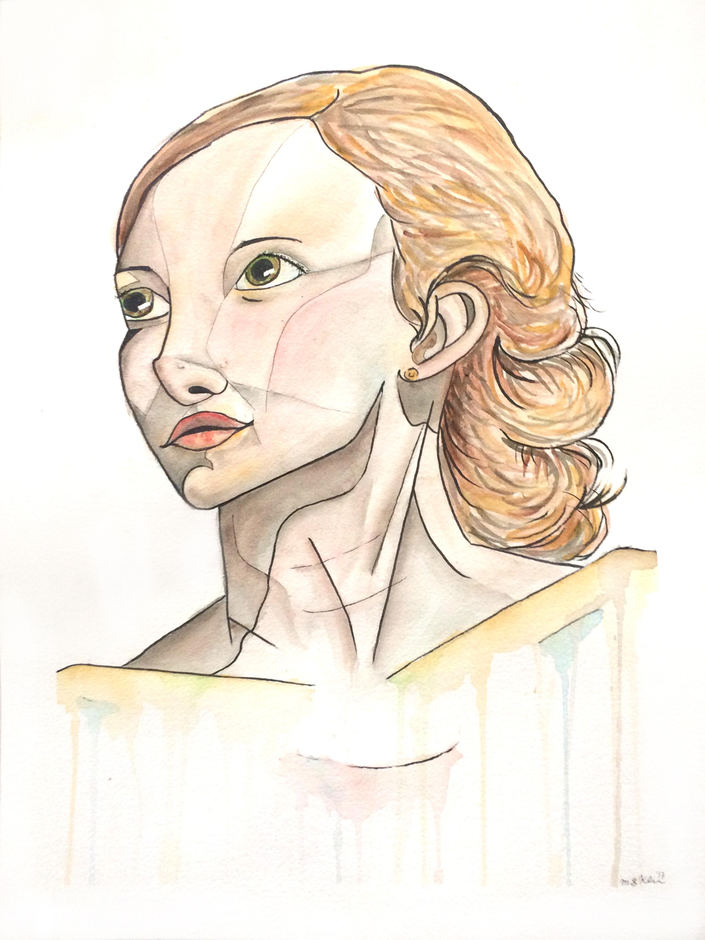 Aurora #2 (The Wooden Girl)