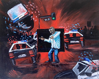 Unarmed Black Man