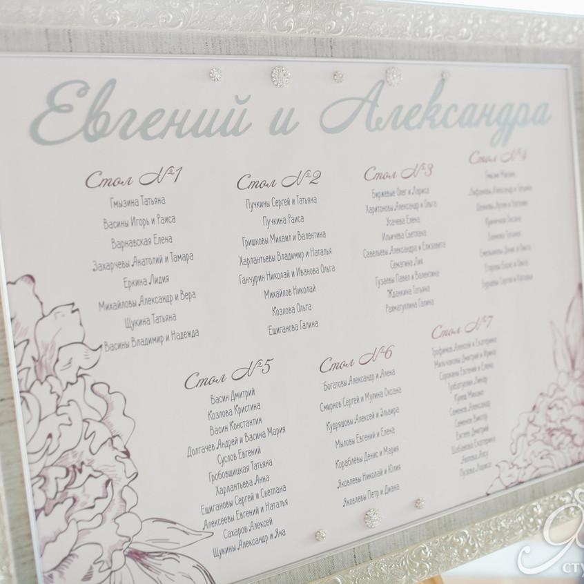 Свадьба Евгения и Александры