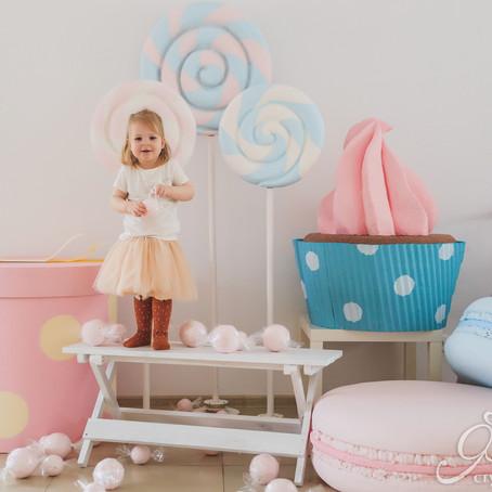 Сладкий фотопроект для детей