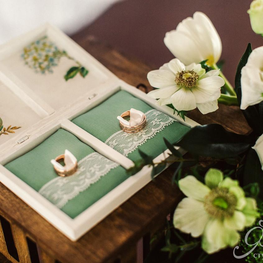 Свадьба в ботаническом стиле