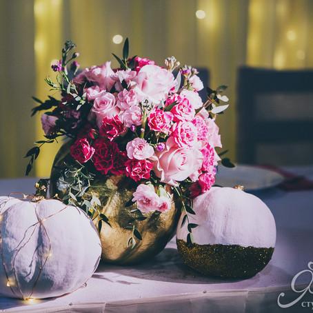 Очаровательная тыквенная свадьба