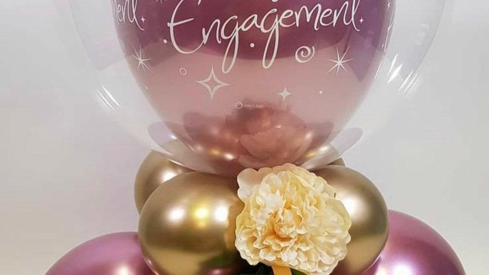 Large balloon personalised writing