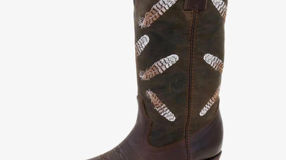 Kokkaburra boots round toe