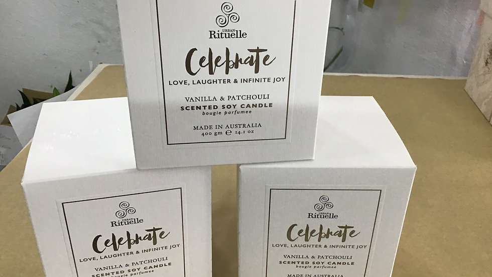 Celebrate large candle