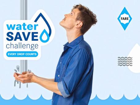 #waterSAVEchallenge. Wir machen mit!