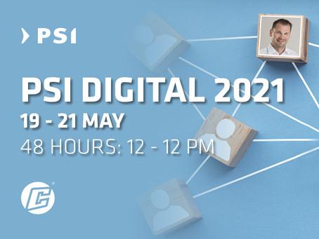 PSI Digital 2021- cyber-Wear ist dabei!