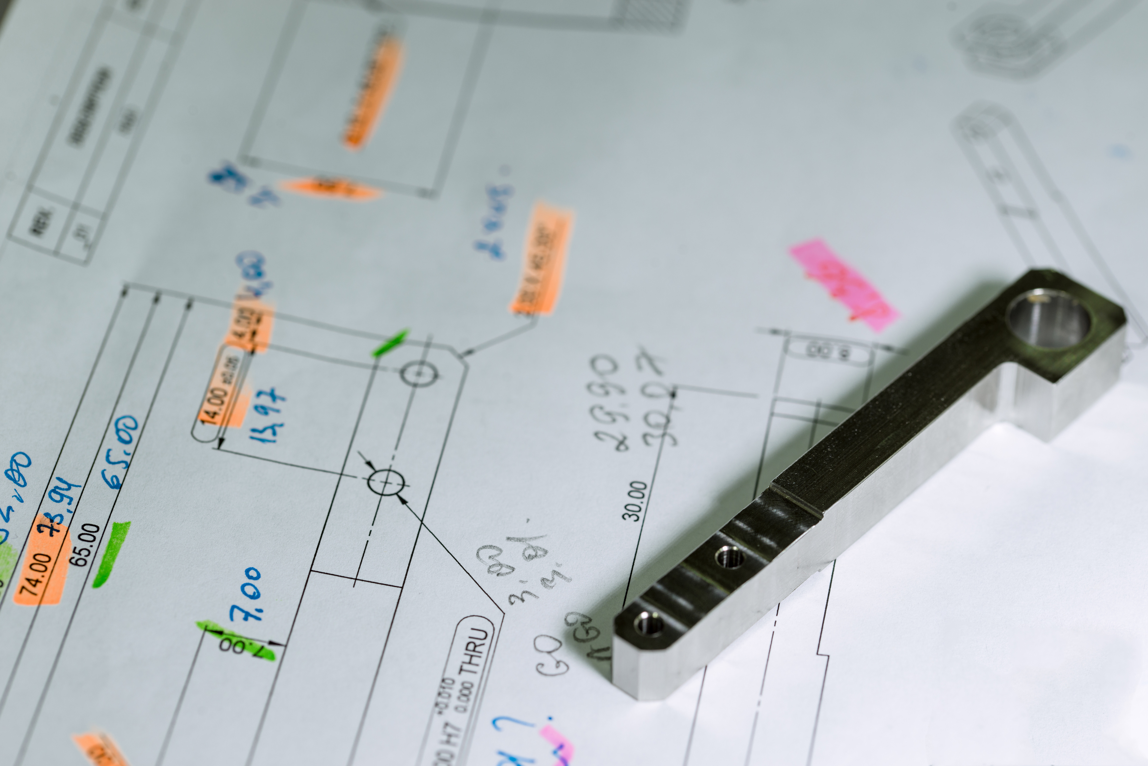 Blueprint, IATF 16949, ISO 9001