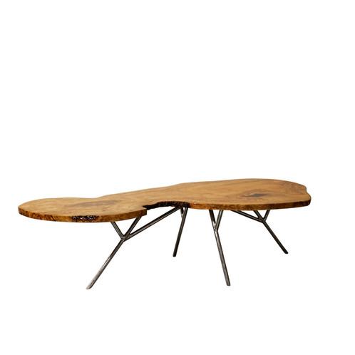 Luxe Salon Tafel.Marino Salon Tafel Olijfhout