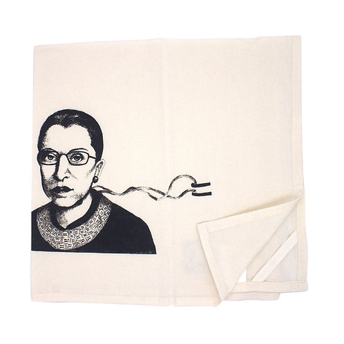 RBG Tea Towel, 100% organic cotton