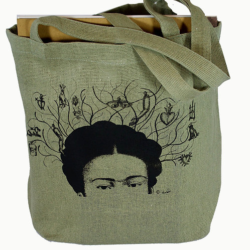 Milagros Tote, 100% recycled cotton
