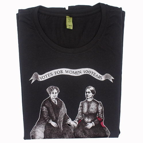 Votes for Women 100 Years T-Shirt, Organic
