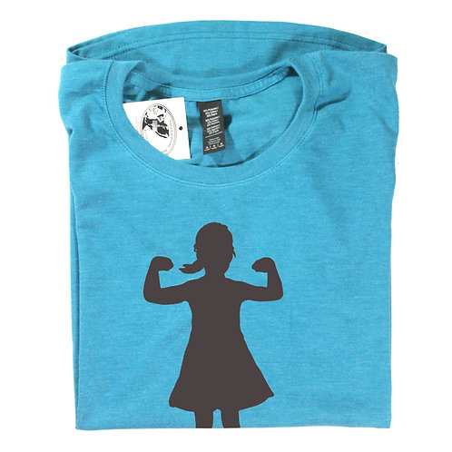 Power Girl, 50% polyester / 25% combed ringspun cotton / 25% rayon, t-shirt