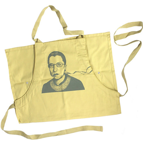 RBG Apron, 50% organic cotton, 50% recycled polyester