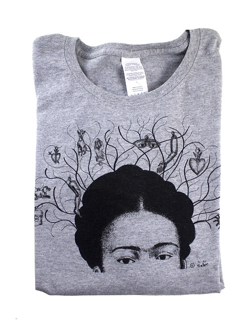 Milagros Tee, 100% cotton, silkscreen design