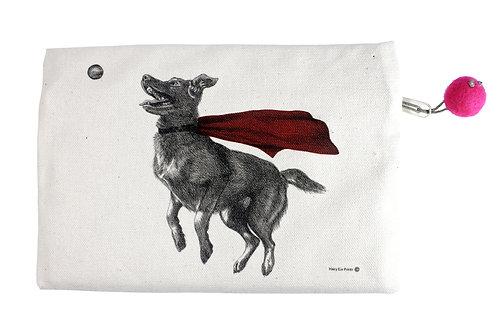 Super Dog Pouch, 100% cotton