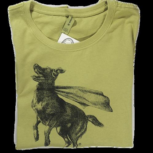 Super Dog, 100% organic cotton t-shirt