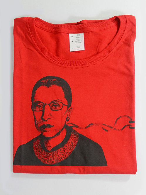 RBG, 100% cotton t-shirt