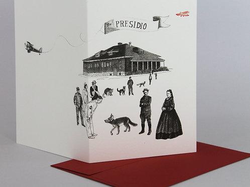 SF Presidio, blank card