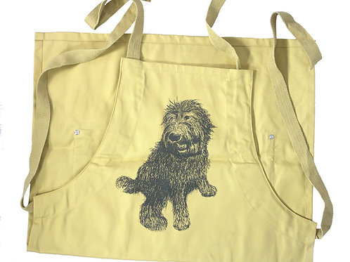 Labradoodle Apron, 50% organic cotton, 50% recycled polyester