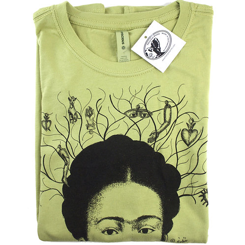 Milagros, 100% organic cotton t-shirt