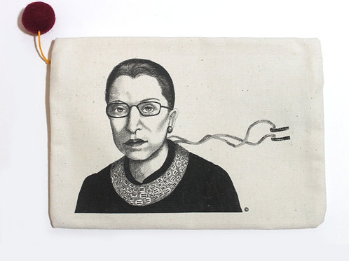 RBG Pouch, 100% cotton