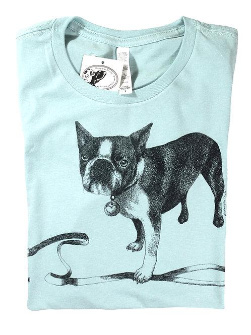 French Bulldog Tee, 100% cotton, fine jersey