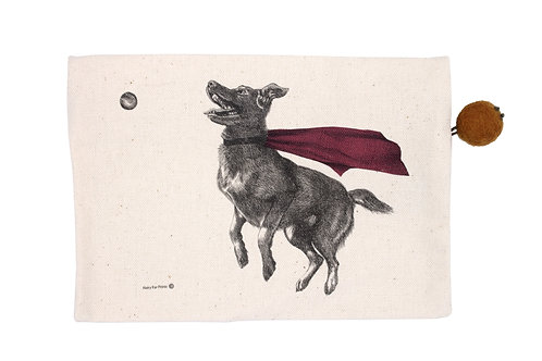 Super Dog Pouch, 100% cotton
