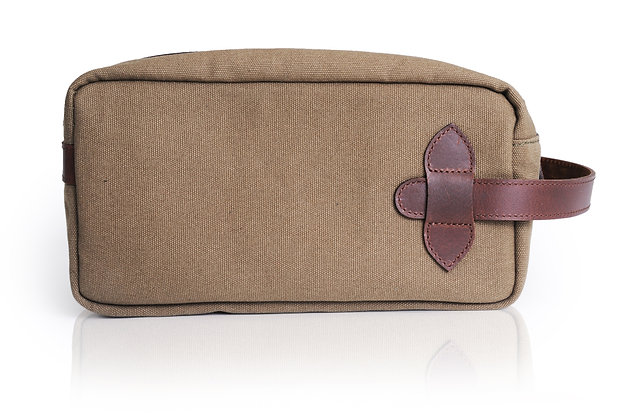 Carlston Leather Washbag