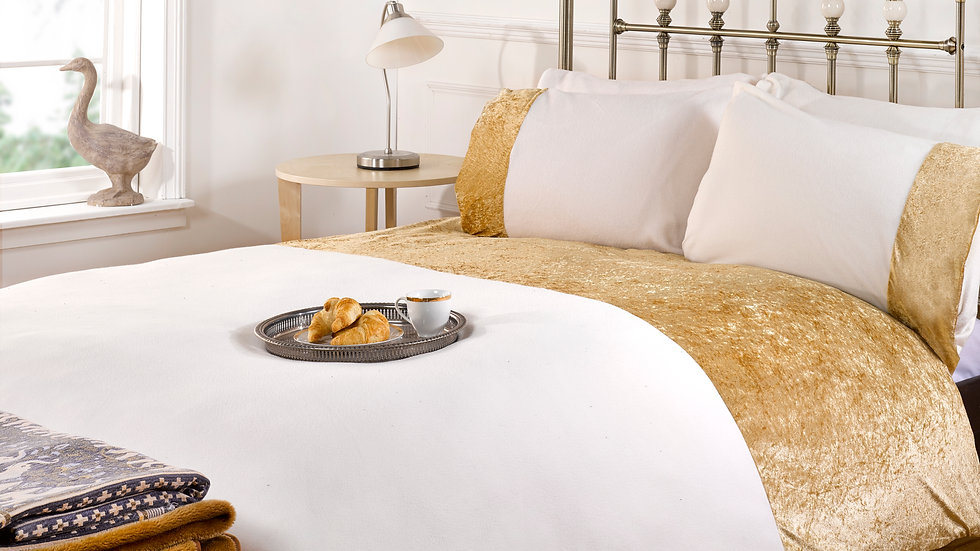 Gold Dust Bedding Collection