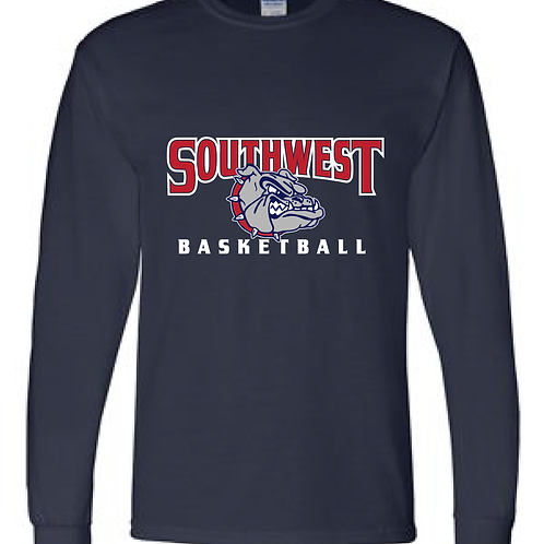 SWMS Basketball Basic Long Sleeve Tee