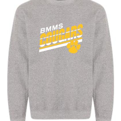 BMMS Angled Stripes Crewneck Sweatshirt