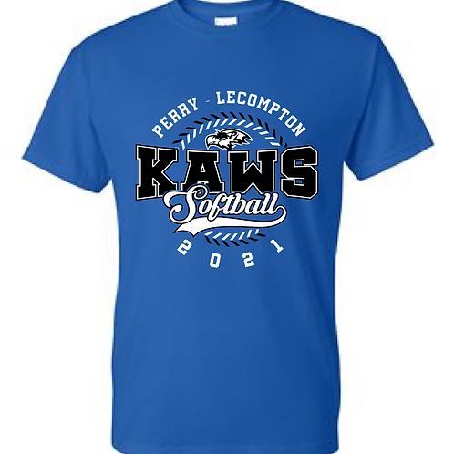PLHS Softball Basic Tee