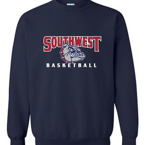 SWMS Basketball Crewneck Sweatshirt