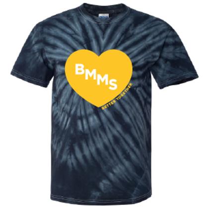 BMMS Heart Tie Dye Tee
