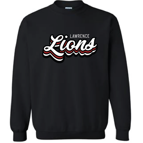 Stacked Lions Crewneck
