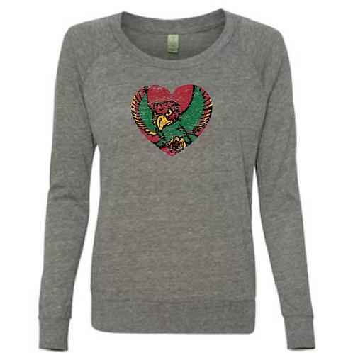 Firebird Heart Slouchy Tee