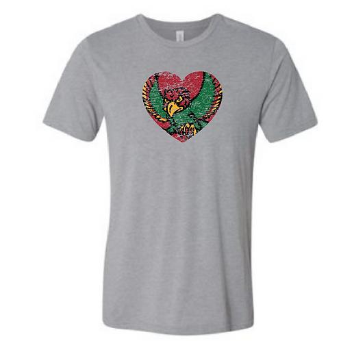 Firebird Heart Triblend Tee