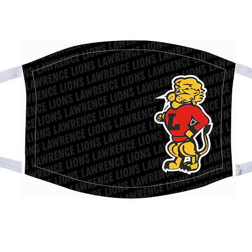 LHS Lawrence Lions Repeat Mask